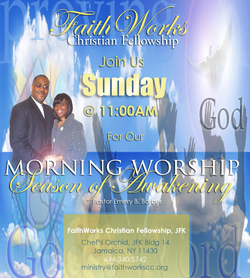 Join Us for Sunday Morning Worship @ The Chef's Orchid!